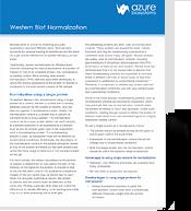 Western Blot Normalization