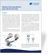 App Note-Detection of low copy telomeric genes with Cielo